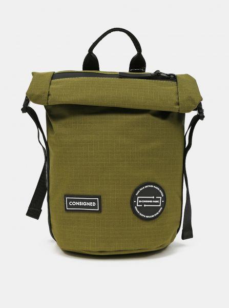 Zelený batoh/taška přes rameno Consigned