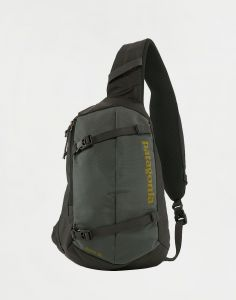 Patagonia Atom Sling 8L Forge Grey w/Textile Green 8 l