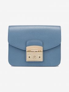Metropolis Mini Cross body bag Furla Modrá 1033136