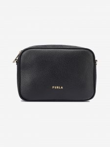 Real Mini Cross body bag Furla Černá 1033138