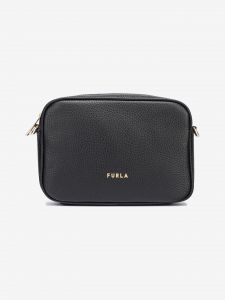 Real Mini Cross body bag Furla Černá 1033140