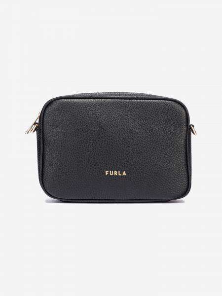 Real Mini Cross body bag Furla Černá 1033140