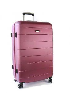 March Velký cestovní kufr Bumper 109,5 l – růžová