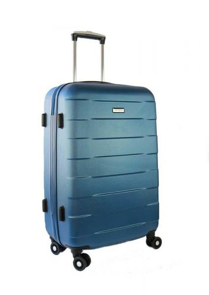 March Velký cestovní kufr Bumper 109,5 l – světle modrá