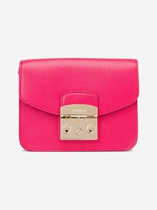 Metropolis Mini Cross body bag Furla Růžová 1033543