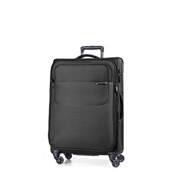 March Kabinový cestovní kufr Carter SE 40 l – černá