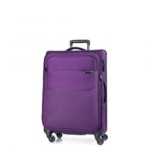 March Kabinový cestovní kufr Carter SE 40 l – fialová