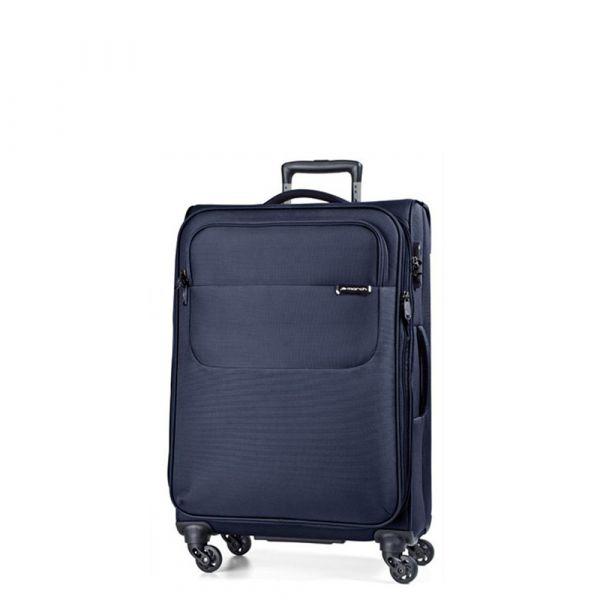 March Kabinový cestovní kufr Carter SE 40 l – modrá