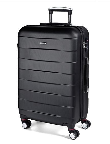 March Střední cestovní kufr Bumper 71 l – černá