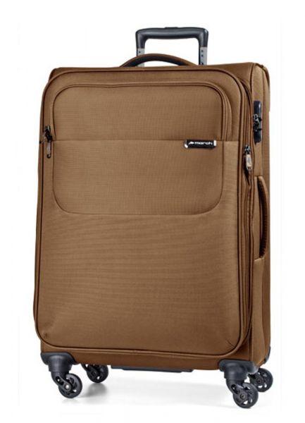 March Velký cestovní kufr Carter SE 107 l – bronzová