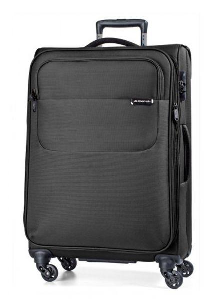 March Velký cestovní kufr Carter SE 107 l – černá