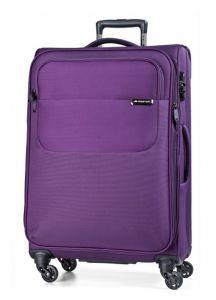 March Velký cestovní kufr Carter SE 107 l – fialová