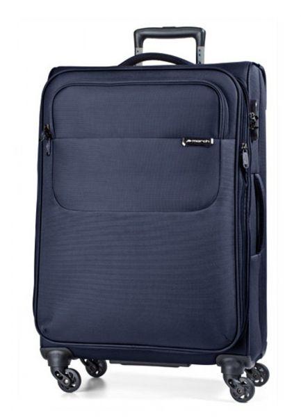 March Velký cestovní kufr Carter SE 107 l – modrá