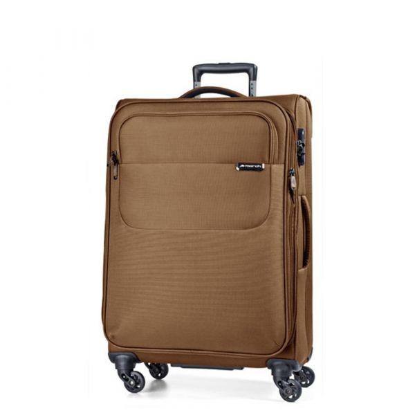 March Střední cestovní kufr Carter SE 79 l – bronzová