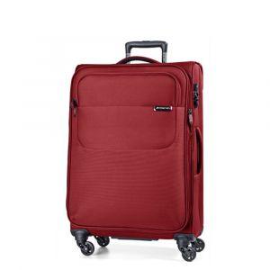 March Střední cestovní kufr Carter SE 79 l – červená