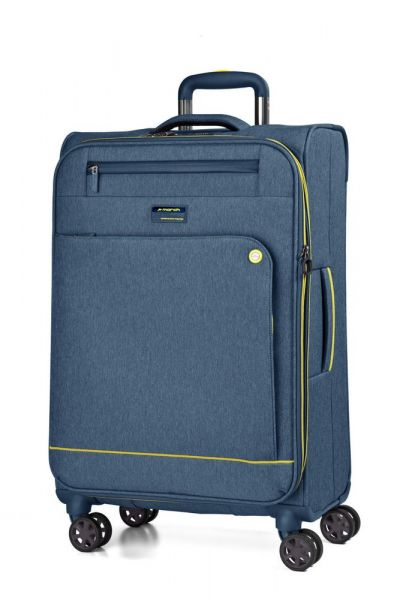 March Kabinový cestovní kufr Shorttrack 37 l – modrá