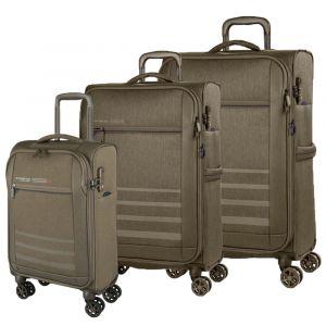 March Sada cestovních kufrů Sigmatic S + M + L, khaki