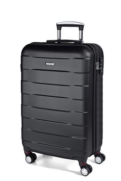 March Kabinový cestovní kufr Bumper 34,5 l – černá