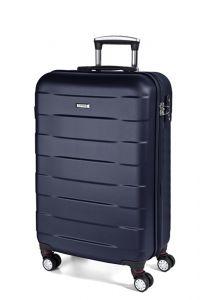 March Kabinový cestovní kufr Bumper 34,5 l – modrá