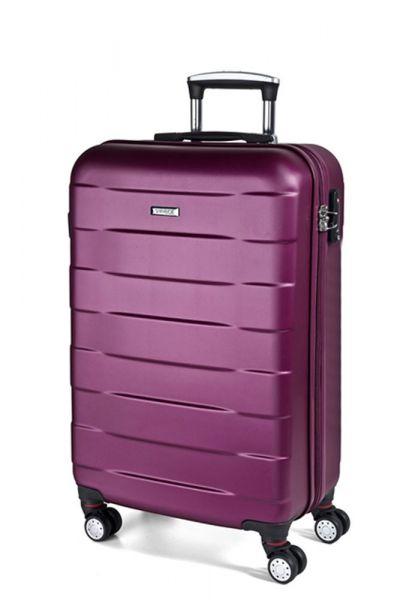 March Kabinový cestovní kufr Bumper 34,5 l – růžová