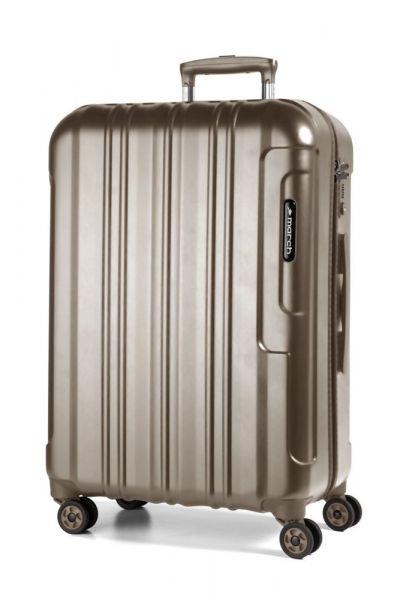 March Cestovní kufr Cosmopolitan Special Edition 69 l – bronzová