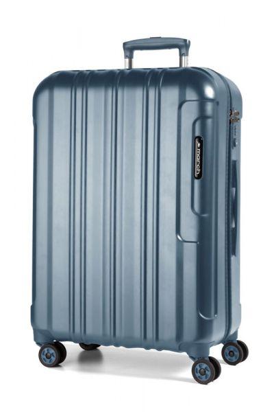 March Cestovní kufr Cosmopolitan Special Edition 69 l – modrá