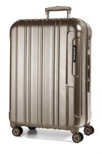 March Cestovní kufr Cosmopolitan Special Edition 115 l – bronzová