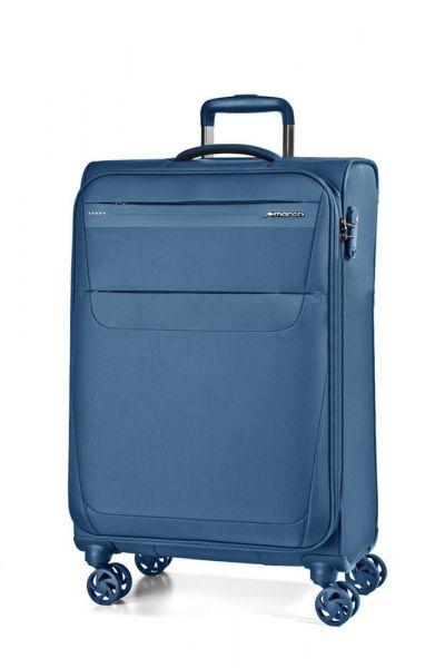 March Kabinový cestovní kufr Aeon 37 l – modrá