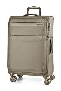 March Cestovní kufr Aeon 70/83 l – světle hnědá