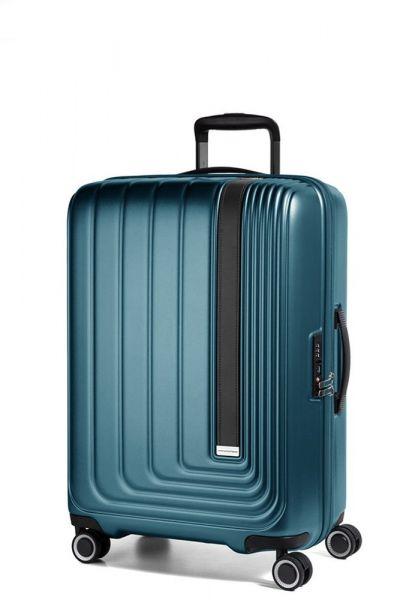 March Kabinový cestovní kufr Beau Monde 41 l – tmavě zelená