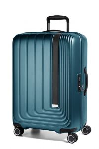 March Skořepinový cestovní kufr Beau Monde 65 l – tmavě zelená
