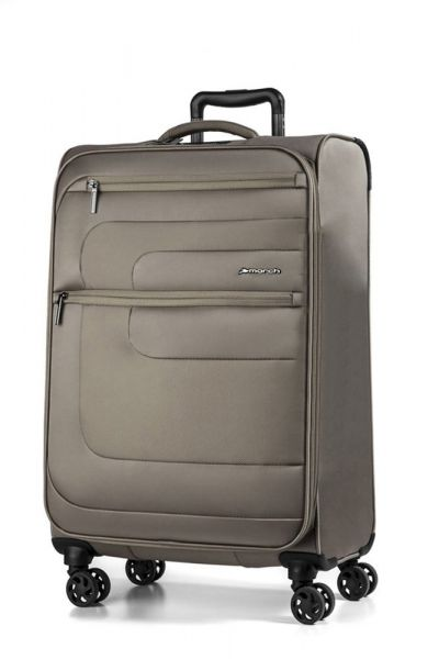 March Kabinový cestovní kufr Classic 37 l – hnědá