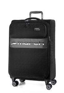 March Kabinový cestovní kufr Mosaic S EXP 38 l – černá