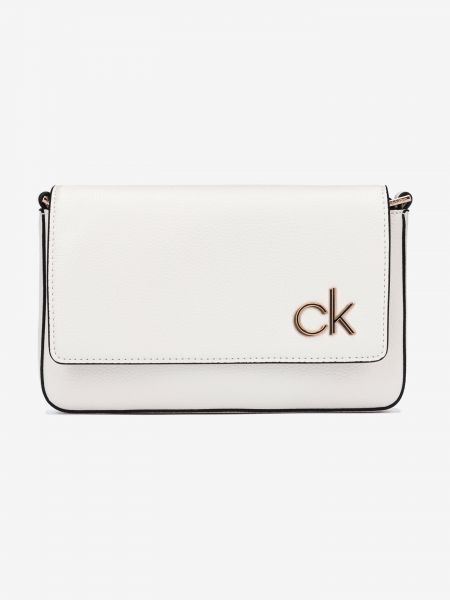 Ew Flap Cross body bag Calvin Klein Bílá 1035328