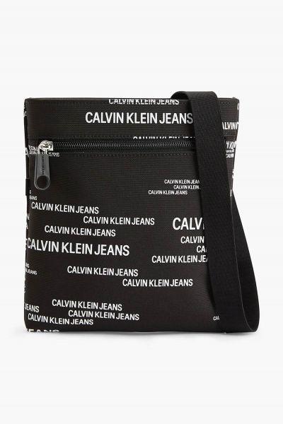 Calvin Klein černá pánská taška Micro Flatpack Urban