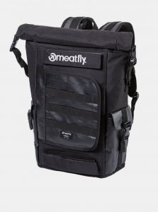 Černý pánský batoh Meatfly Periscope