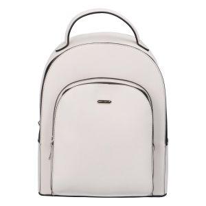 Módní dámský batoh David Jones Milade – bílá