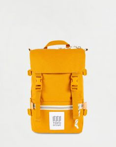 Topo Designs Rover Pack Mini Mustard Canvas 10 l