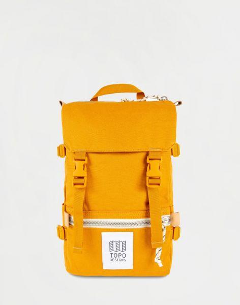Topo Designs Rover Pack Mini Mustard Canvas 10 l