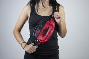 Jan aj1 crossbody BLACK(GYM RED)