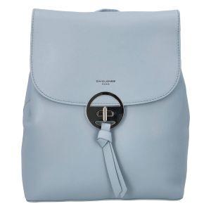 Módní dámský batoh David Jones Sabine – modrá
