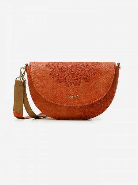 Summer Aquile Cross body bag Desigual Oranžová 1039038
