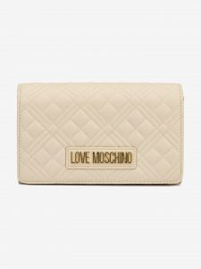 Evening Cross body bag Love Moschino Béžová 1041226