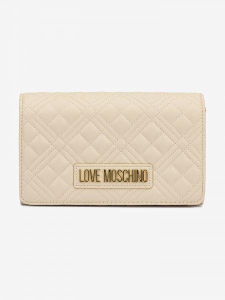 Evening Cross body bag Love Moschino Béžová 1041226