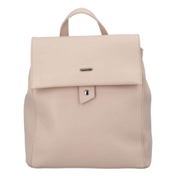 Módní dámský batoh David Jones Dione – růžová