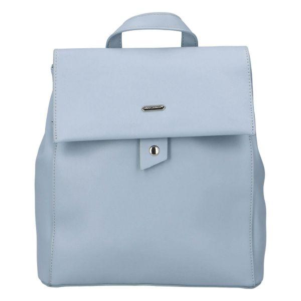 Módní dámský batoh David Jones Dione – modrá