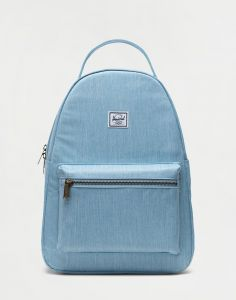 Herschel Supply Nova Mid-Volume Light Denim Crosshatch 18 l