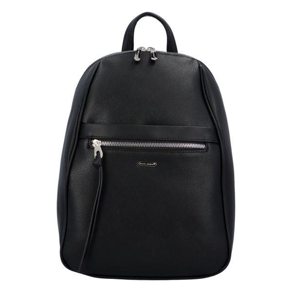 Módní dámský batoh David Jones Izolda – černá