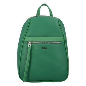 Módní dámský batoh David Jones Izolda – zelená