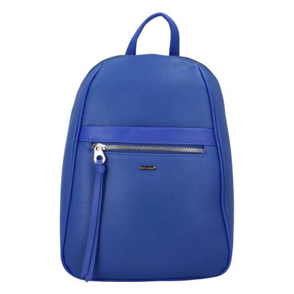 Módní dámský batoh David Jones Izolda – modrá